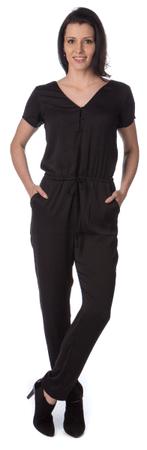 Pepe Jeans ženski kombinezon Noelle XS črna