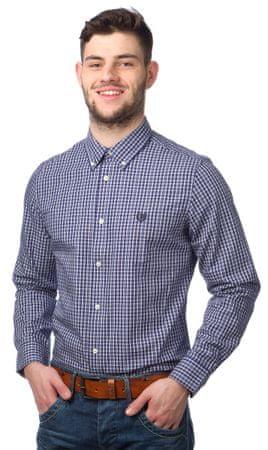 Chaps pánská bavlněná košile XXL modrá