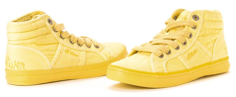 s.Oliver dámská kotníčková obuv 38 žlutá
