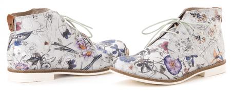 s.Oliver buty za kostkę damskie 37 srebrny