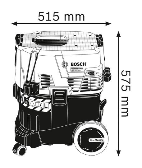BOSCH Professional sesalec za mokro in suho sesanje GAS 35 L SFC+ (06019C3000)