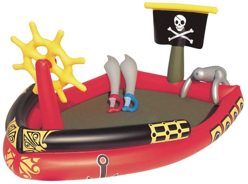 Bestway Nafukovací bazén - Pirátská loď