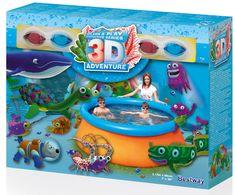 Bestway napihljiv bazen 3D Adventure