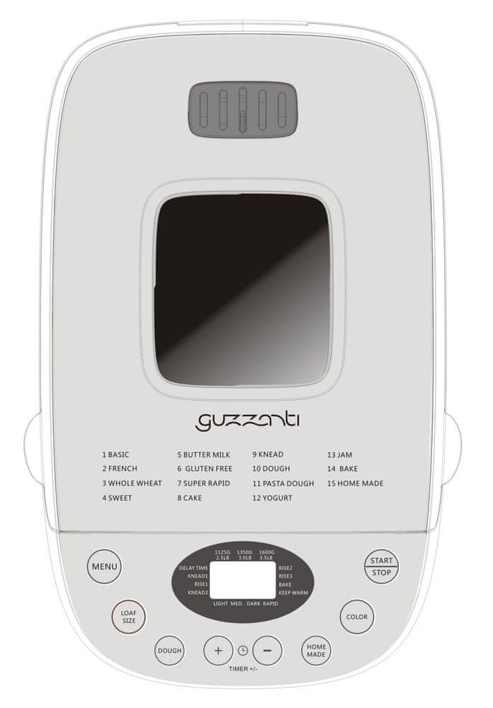 GUZZANTI GZ 635 - rozbaleno