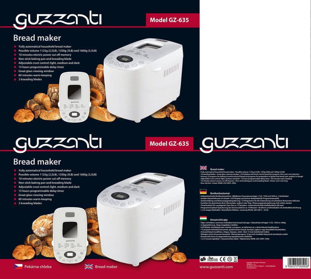 GUZZANTI GZ 635 - zánovní