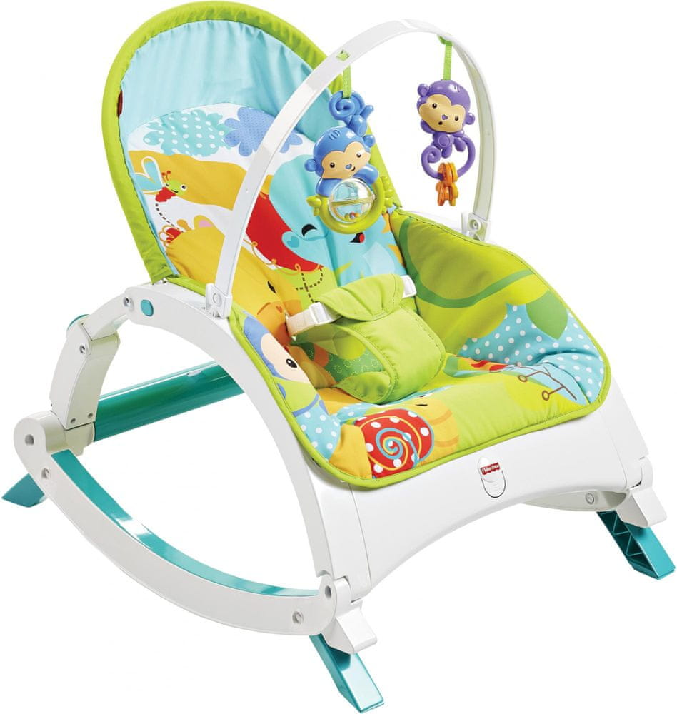 Fisher-Price Sedátko rainforest 3v1