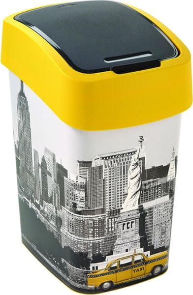Curver Odpadkový koš Flipbin NEW YORK 25 l