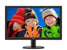 "Philips IPS LCD monitor 60,5 cm (23,8"") V-line 240V5QDAB"