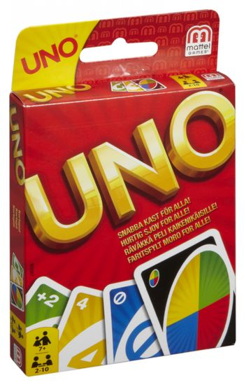 Mattel Uno Display, W2087