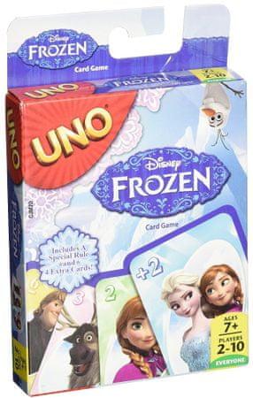 Mattel Jégvarázs Uno kártya