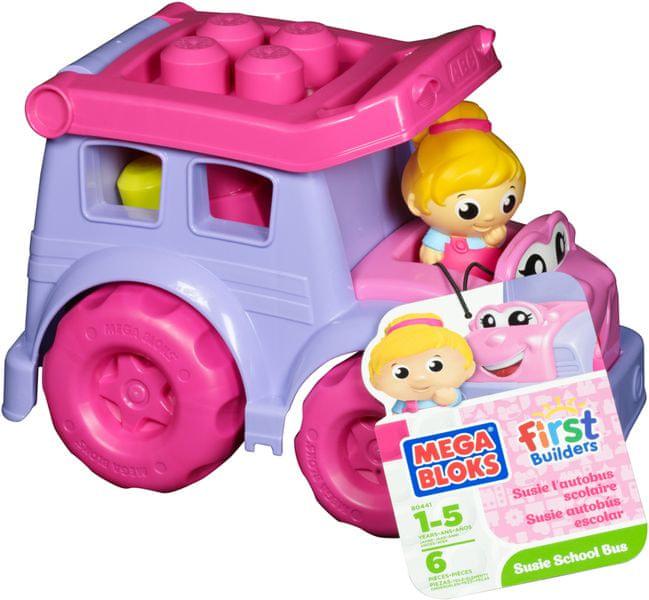 MEGA BLOKS Školní autobus Sussie