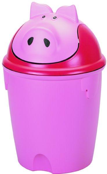 Curver Odpadkový koš Pig 12l