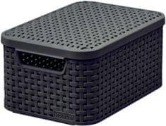 Curver Rattan Style box s víkem S