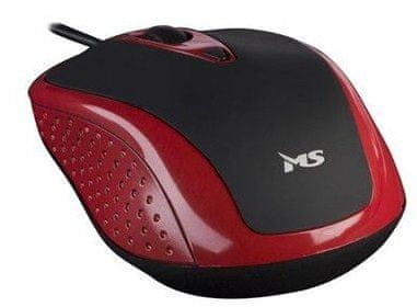 MS miška Skipper 2, rdeča
