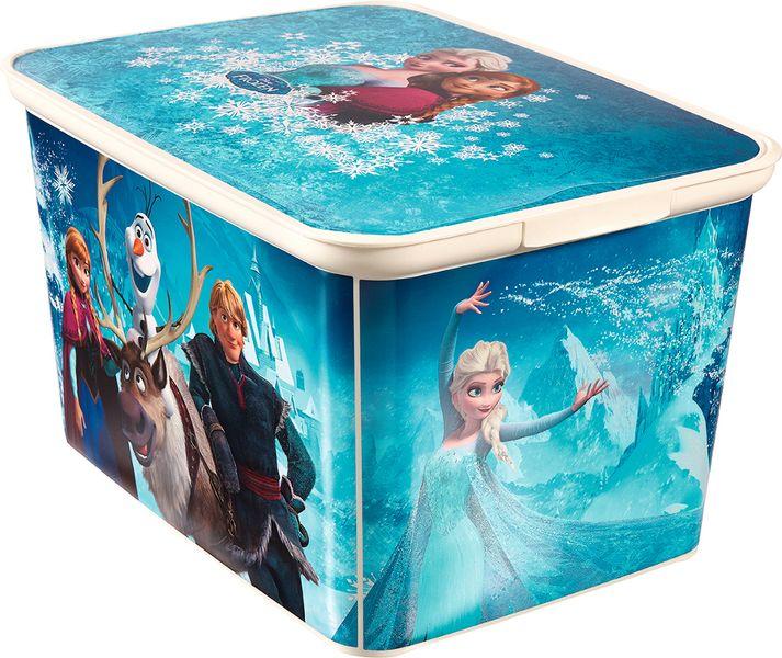 Curver Úložný box Amsterdam - Frozen, L - modrý