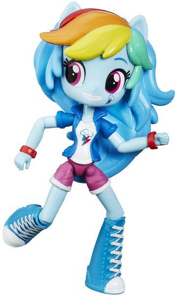 My Little Pony Equestria Girls malá panenka Rainbow Dash