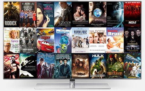 Více než 100 TV kanálů. Buďte vybíraví