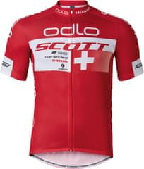 ODLO kolesarska majica Scott Odlo Team Rep. Stand-up collar s/s zip