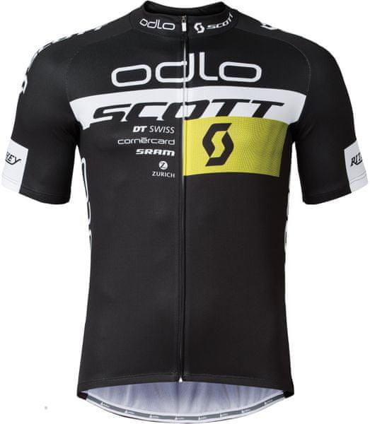 ODLO Scott Odlo Team Rep. Stand-up collar s/s zip Scott Odlo 2016 S