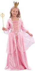 MaDe kostum Princesa s krono, S