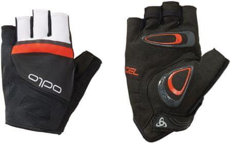ODLO Endurance Gloves short, črno-oranžna, XL