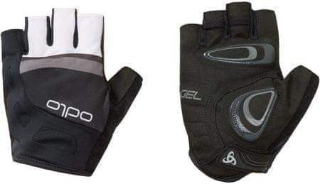 ODLO Endurance Gloves short, črno-siva, S