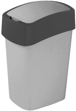 CURVER Koš za smeće Pacific Flip bin 25 L crno-antracitni