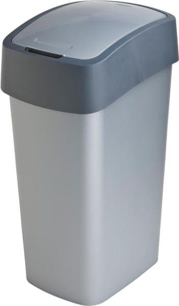 Curver Odpadkový koš Flip Bin 50 l šedý