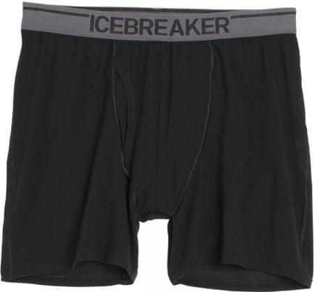 Icebreaker Mens Anatomica Boxers Black/Monsoon XL