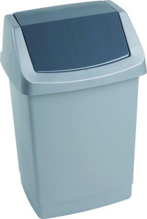Curver Odpadkový koš Click 25 l šedý