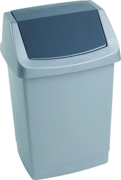 Curver Odpadkový koš Click 50 l šedý