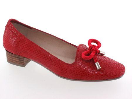 Hispanitas női magassarkú cipő 42 piros