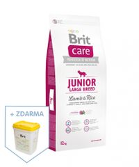 Brit Care Junior Large Breed Lamb & Rice - 12kg