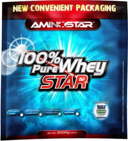 Výsledek obrázku pro Aminostar 100% Pure Whey Star 2000 g