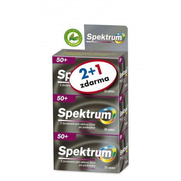 Walmark Spektrum 50+ tbl.3x30 2+1zdarma