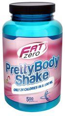 Fat Zero Pretty Body shake, 500 g Jahoda