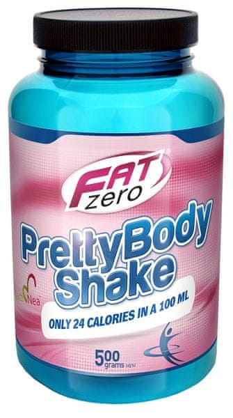 Fat Zero Pretty Body shake, 500 g Jahoda