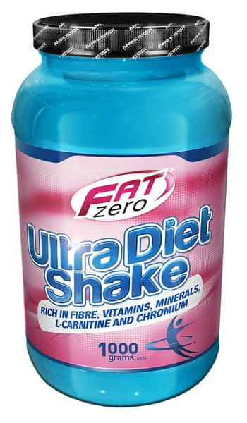 Fat Zero Ultra Diet Shake, 1000g Banán