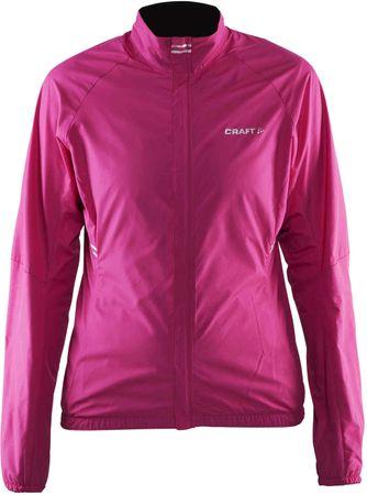Craft kolesarska jakna Velo Wind, ženska, roza, S