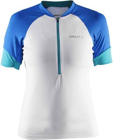 Craft kolesarska majica Classic ženska, bela, XS