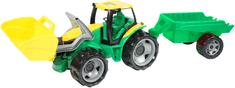 LENA Traktor pótkocsival és első lapáttal, 110 cm