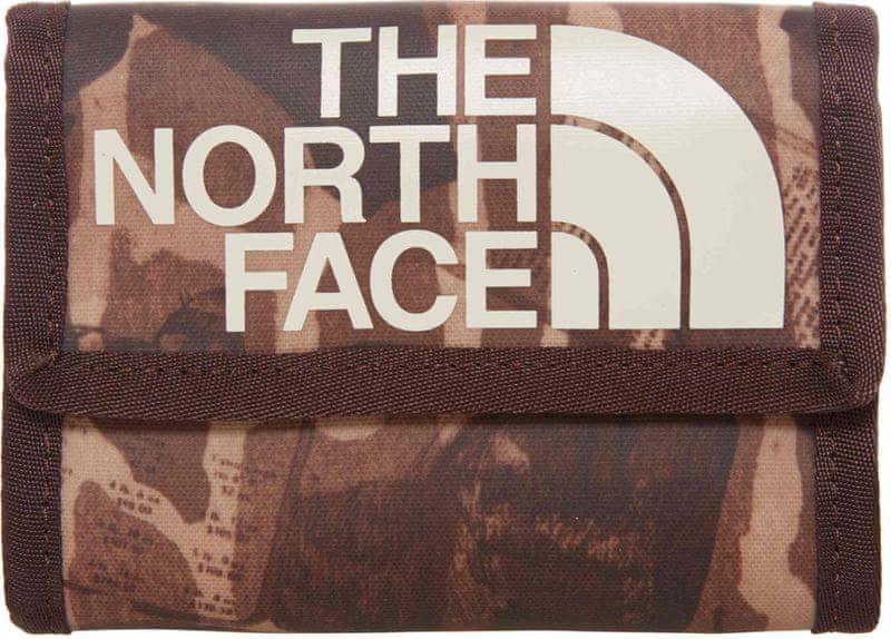 The North Face Base Camp Wallet Brunette Brown Catalog Print OS