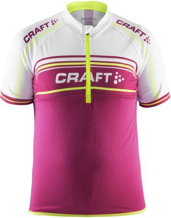 Craft koszulka rowerowa Logo 146 pink