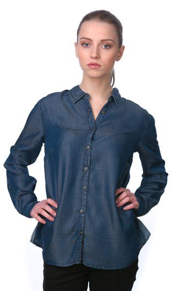 Mustang dámská košile 40 modrá 44b41f673f