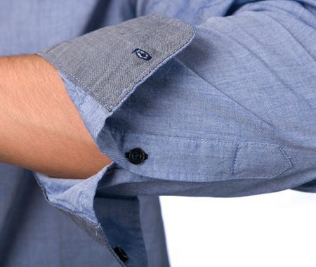 dedfd29c8f1 Mustang pánská košile M modrá