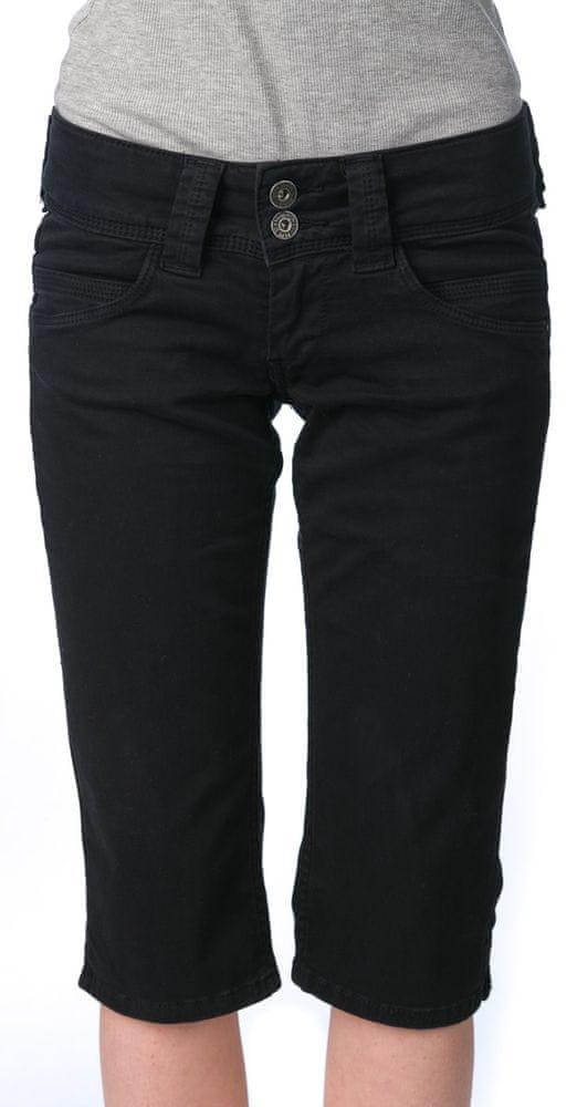 7714b0f9d905 Pepe Jeans női sort Venus Crop 32 fekete | MALL.HU