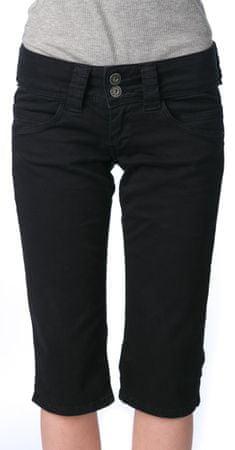 Pepe Jeans ženske kratke hlače Venus Crop 27 črna