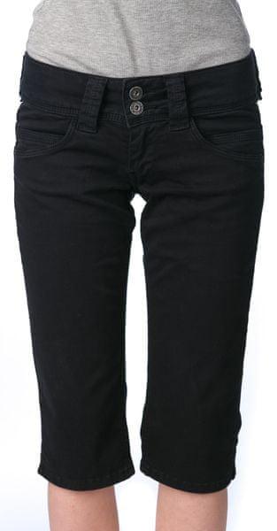 Pepe Jeans dámské kraťasy Venus Crop 26 černá