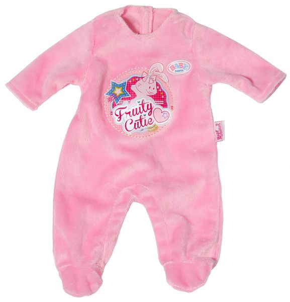 BABY born Sametový overal, růžová