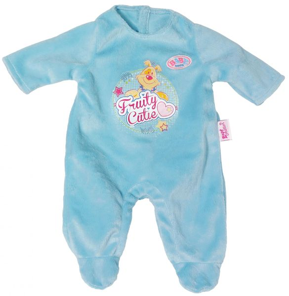 BABY born Sametový overal, modrá 2016